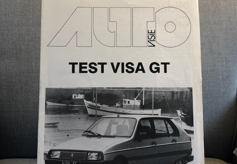 Review Autovisie Test Visa GT